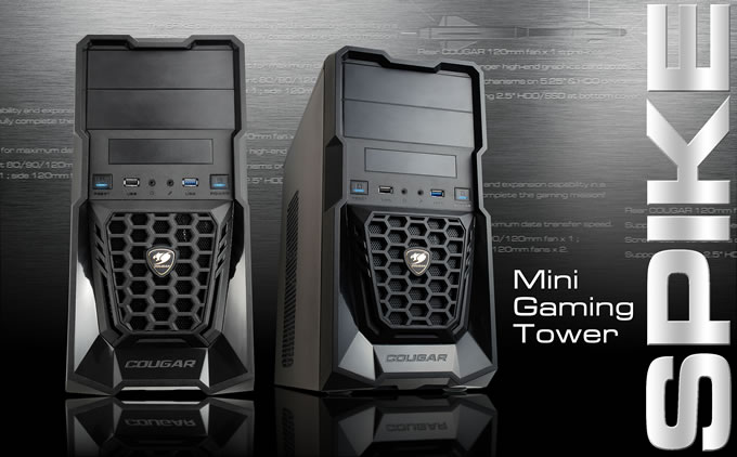 Cougar Introduces Spike Mini Tower Gaming Chassis