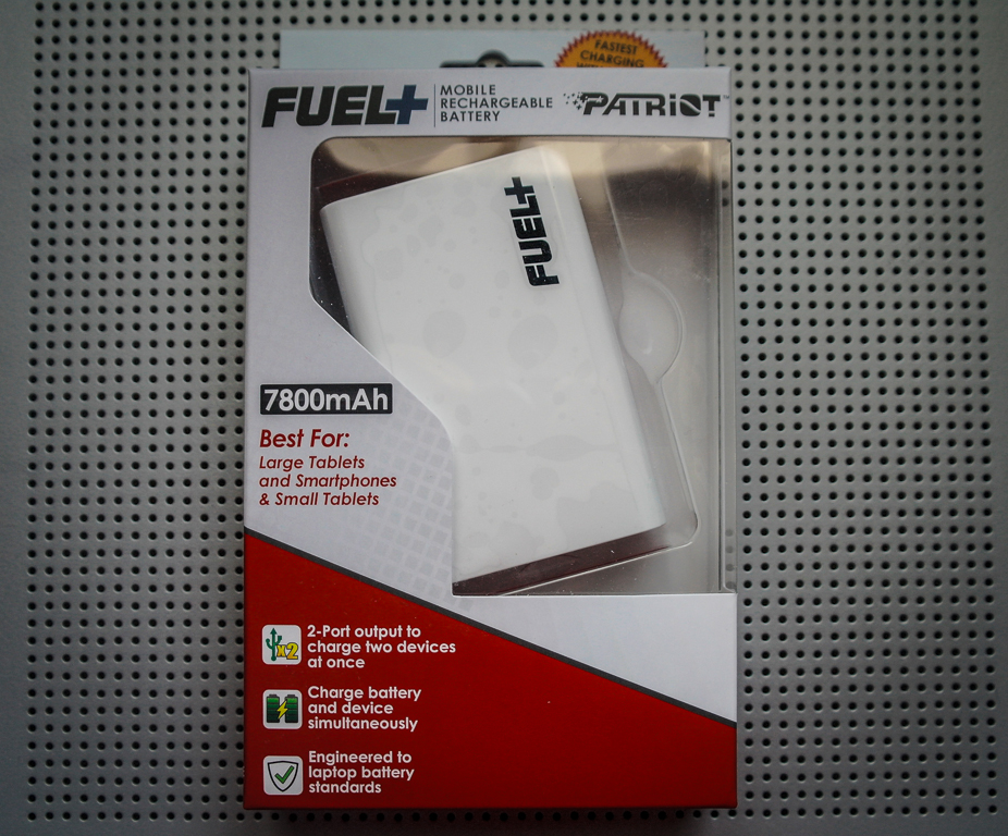 Patriot FUEL+ PLUS Mobile Rechargeable 7800mAh Battery Power Bank Pack