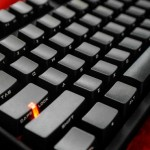 Cooler Master Storm Stealth Cherry MX Blue Mechanical Keyboard featured