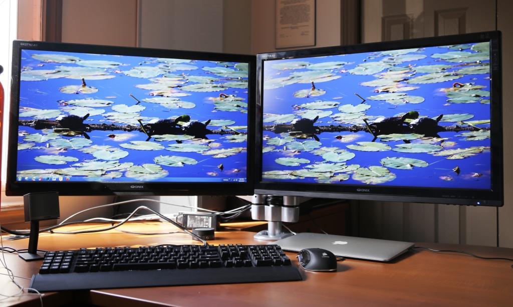 QX2710 Monitor x 2