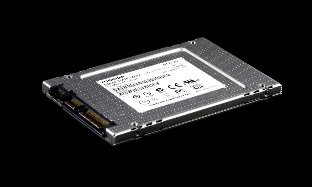 Toshiba THNSN 512GB SSD Extra