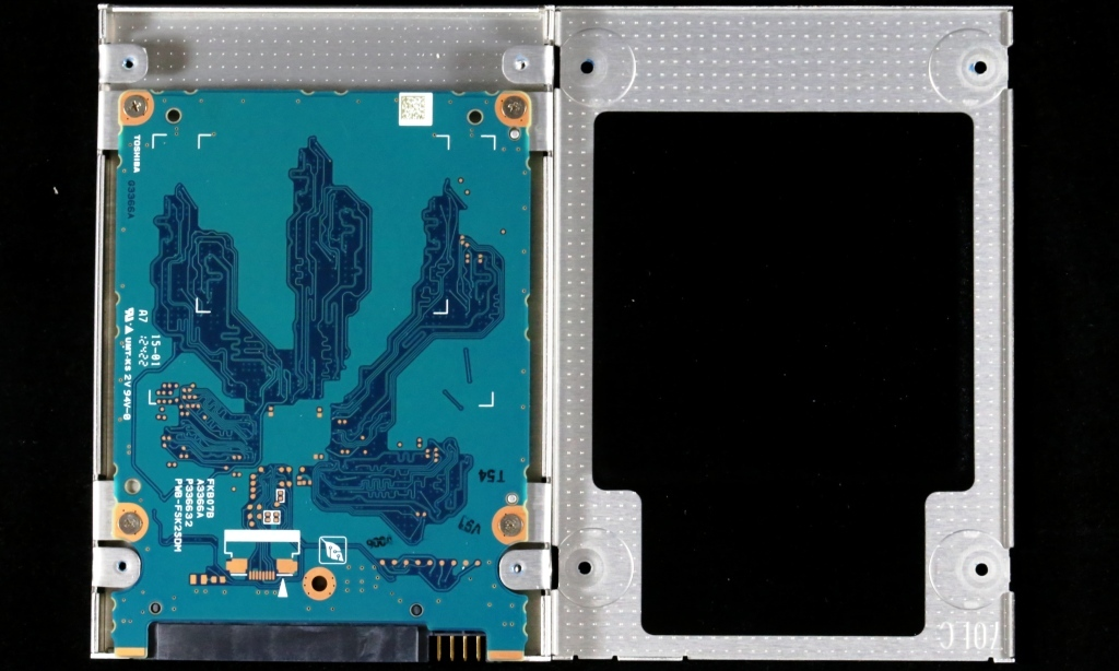 Toshiba THNSN 512GB SSD Open