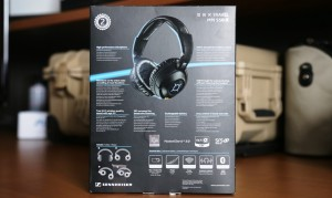 Sennheiser MM 550-X Travelling Headphones Exterior Back
