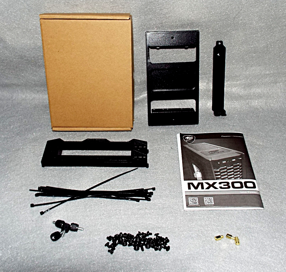 MX300-3 hardware kit contents