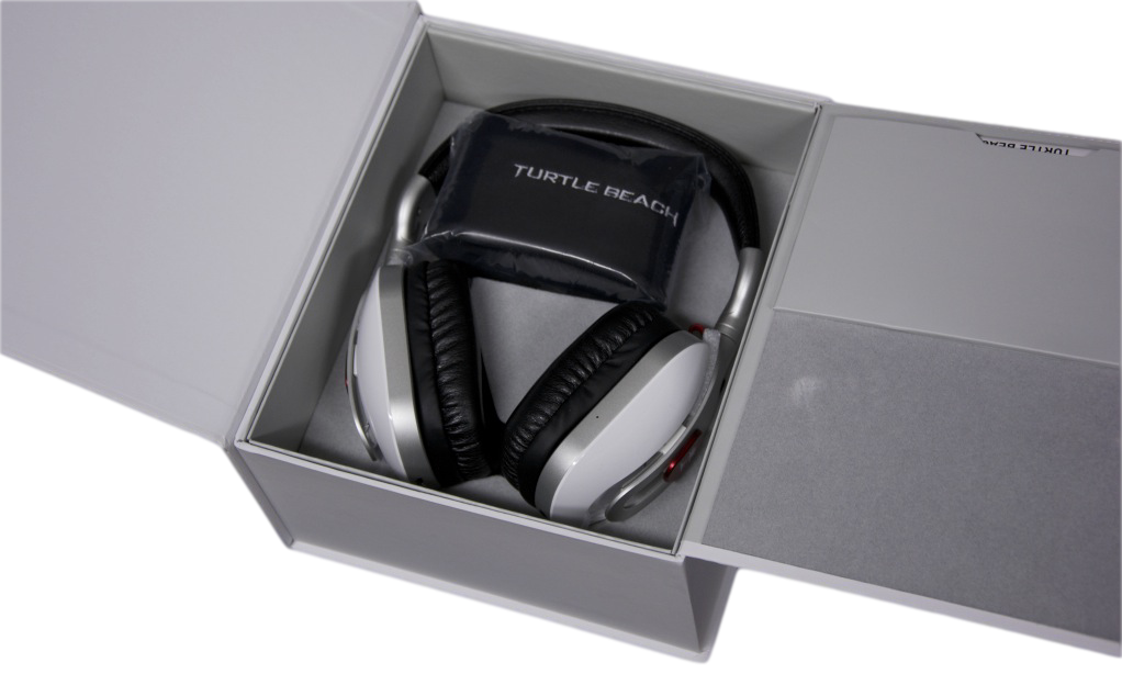 Turtle Beach Ear Force i60 Wireless Desktop Media Headset Box Open