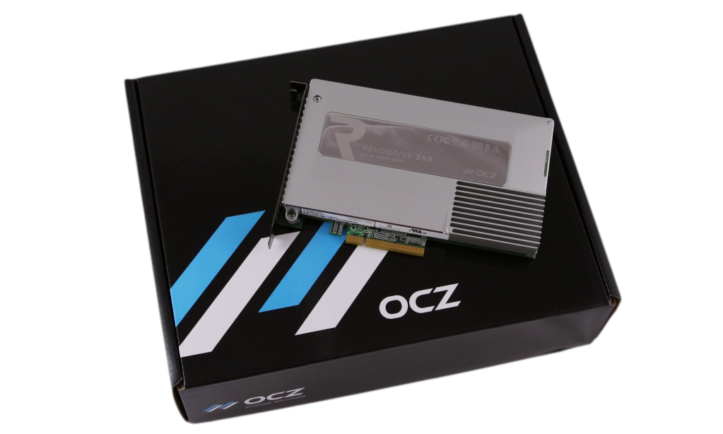OCZ REVODRIVE 350 PCIE SSD ON BOX