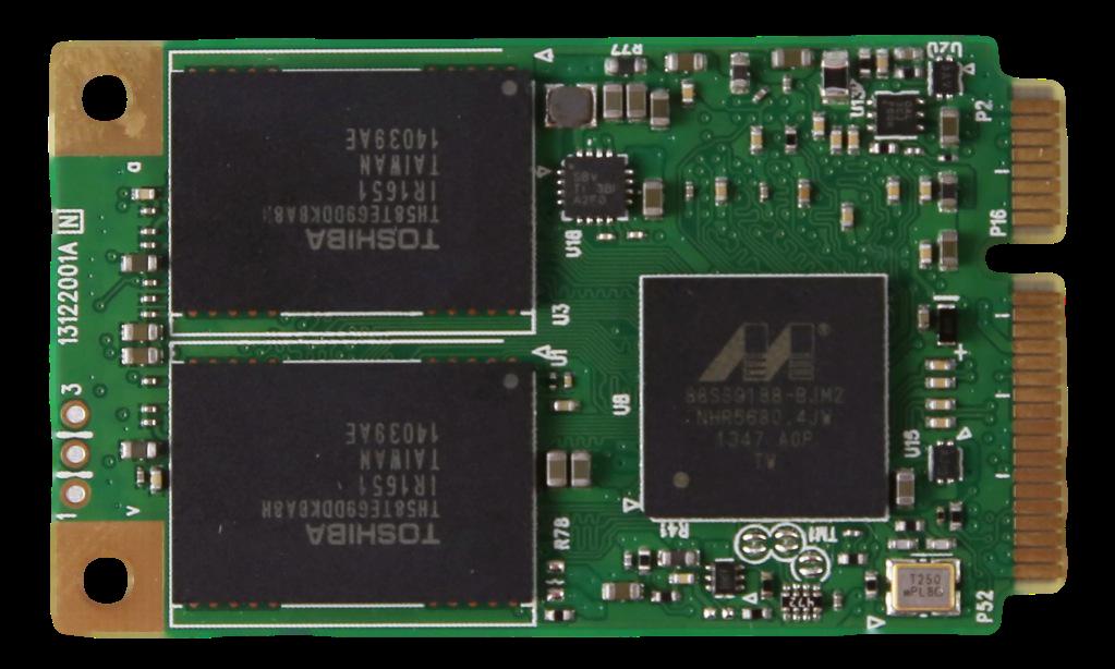 PLEXTOR M6M MSATA SSD BACK