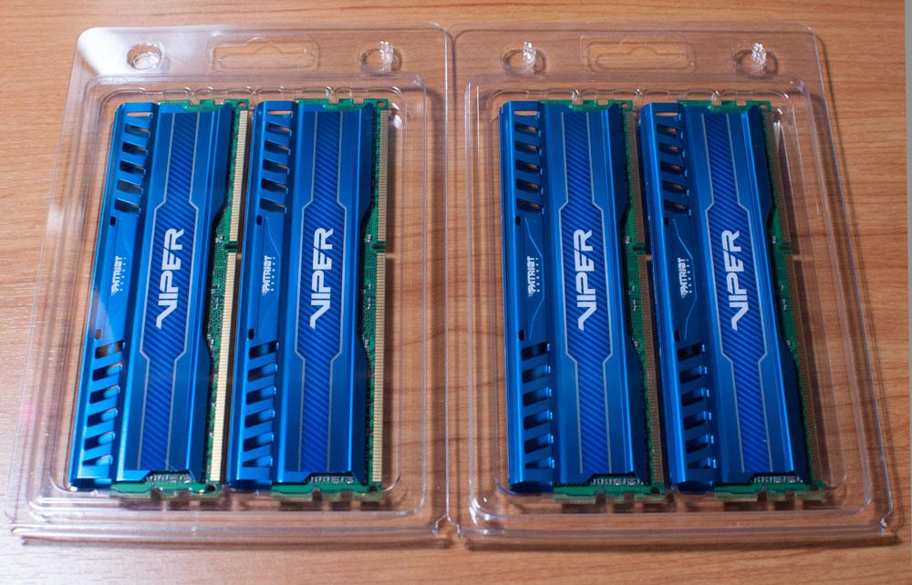 Patriot Viper 32GB PC3-17000 2133Mhz DDR3 Memory Kit