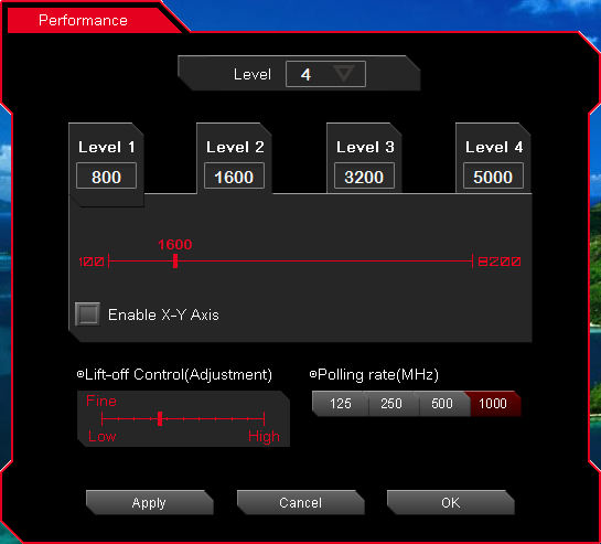 Hybrid Level Set Level 10 Hybrid Mouse User