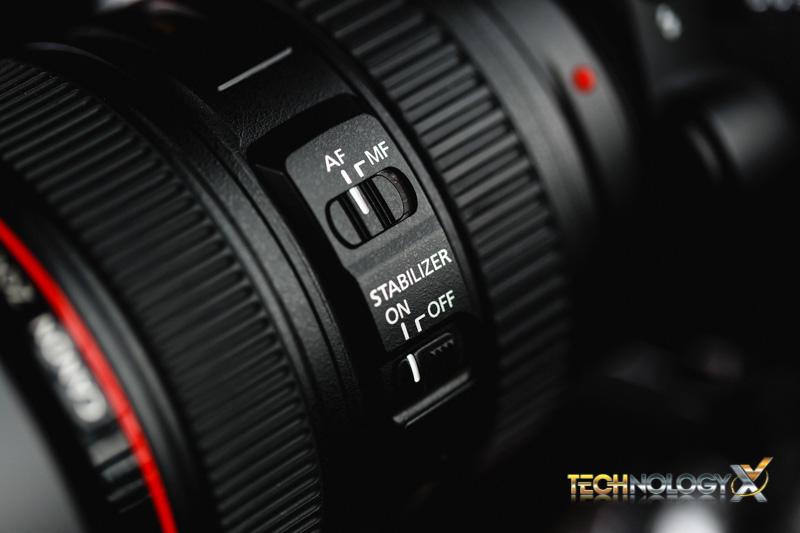 Canon EF 24-105 switche