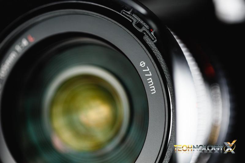 Canon EF 24-105 thread size