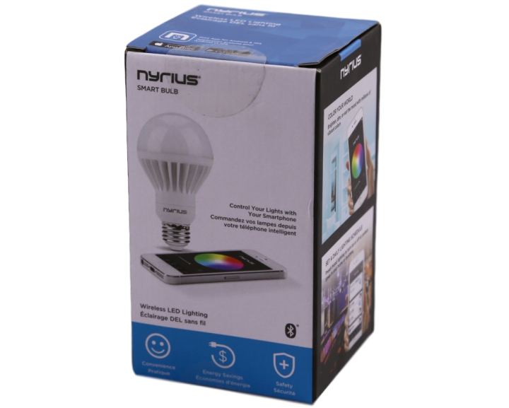 Nyrius Light Bulb and Outlet 2