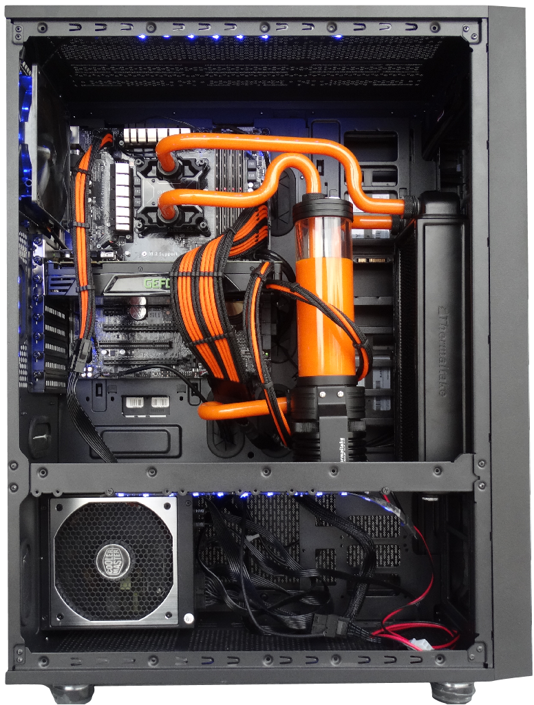 Thermaltake Core X71 Chassis Review with Pacific DIY Cooling Installation!  | Technology X