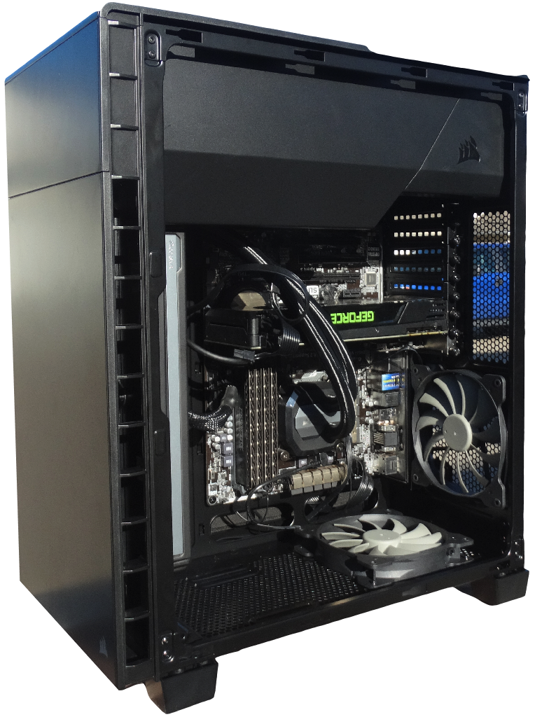 brand new 94c10 b3992 Corsair Carbide Series 600Q Chassis Review | Technology X