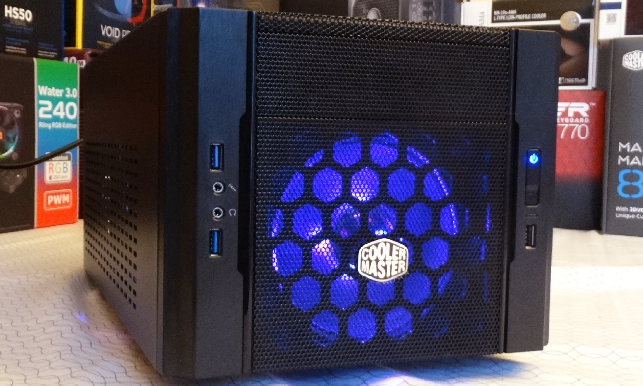 Cooler Master Elite 130 Mini Itx Chassis Review Technology X