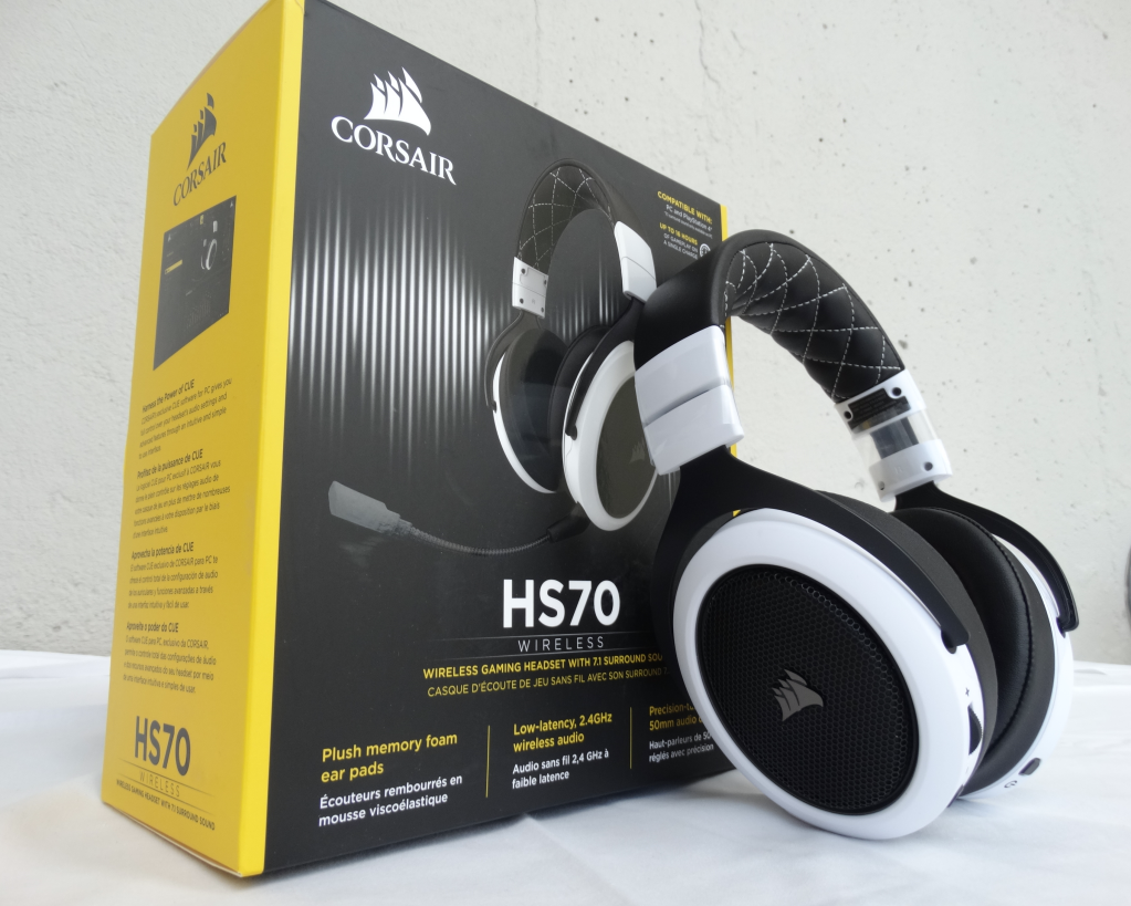 Corsair HS70 Wireless 7 1 Surround Gaming Headset | Technology X