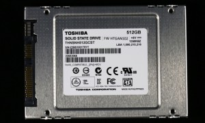Toshiba THNSN 512GB SSD Front