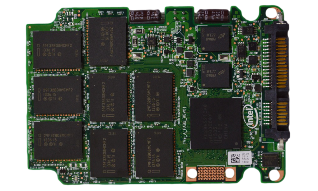Intel SSD 730 Series 480 GB PCB Controller