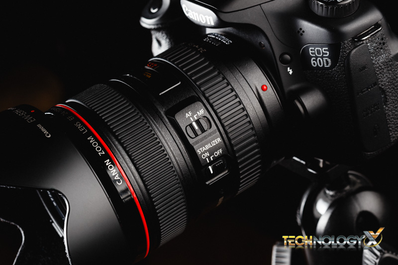 Canon EF 24-105 Side