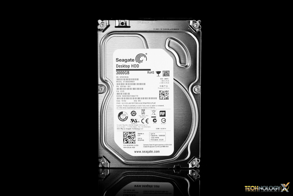 Seagate ST3000DM001 Front