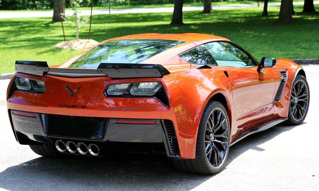 DSOM Corvette Z06 Rear Right Angle