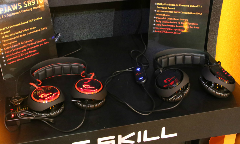 Surround Gaming Headsets GSKILL