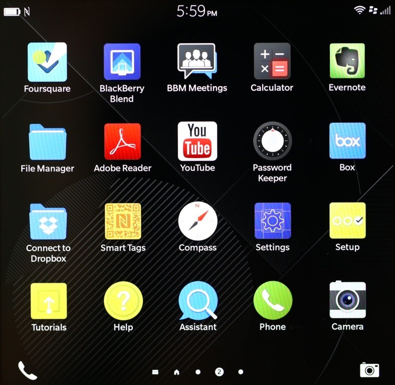BB10 Icon Screen 2