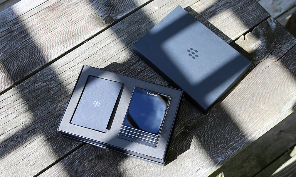 Blackberry Passport Open Box