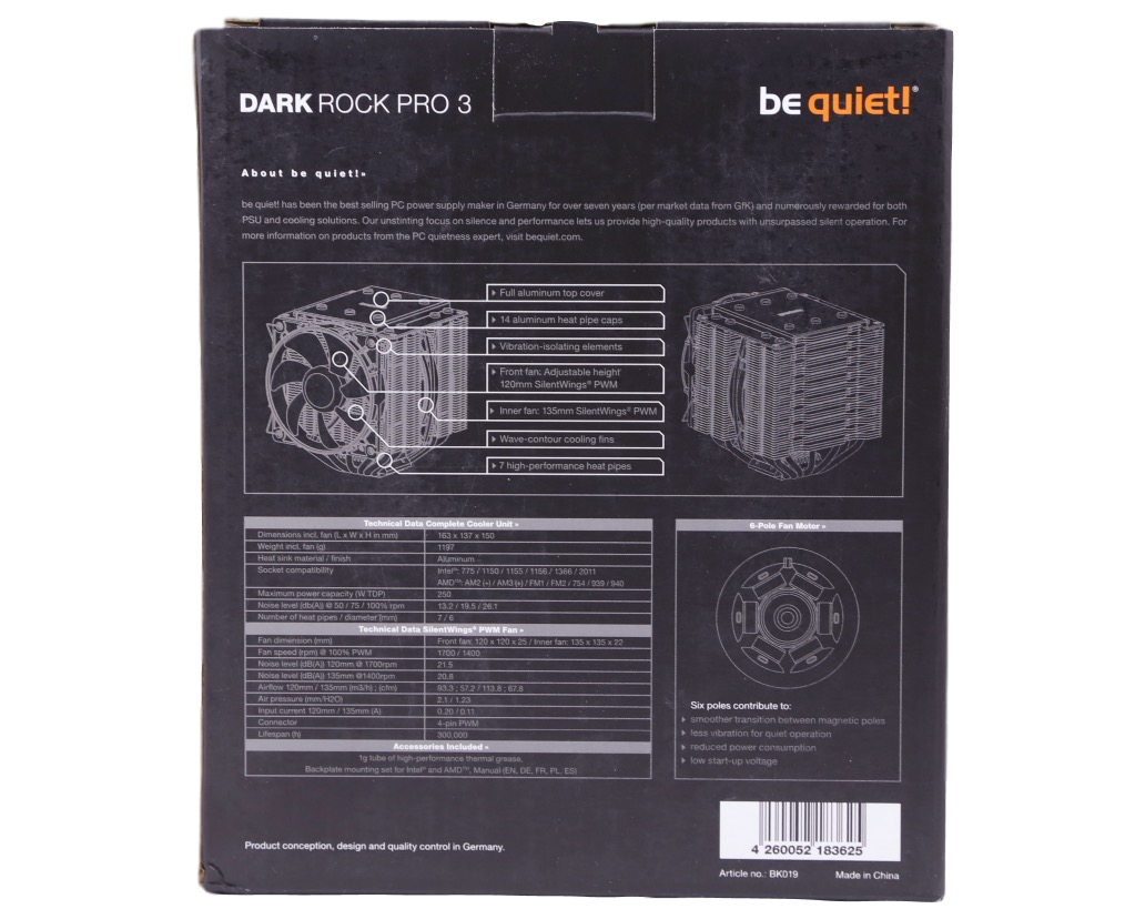 be quiet! Dark Rock Pro 3 6