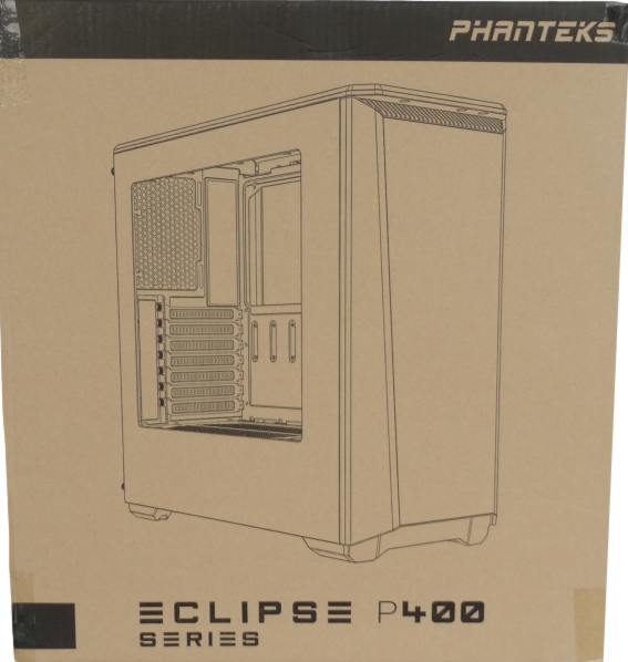 Eclipse P400S Package Front