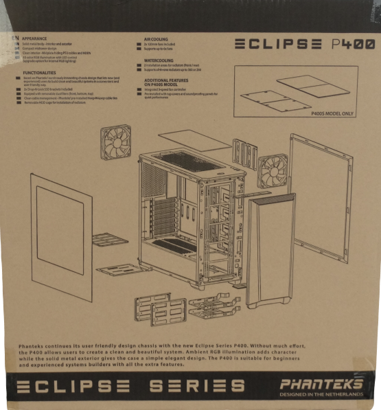 Eclipse P400S Package Rear
