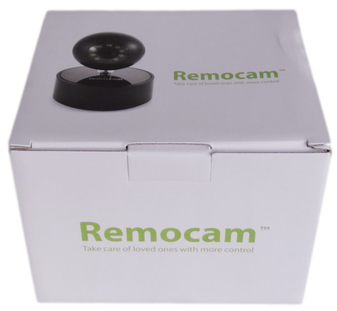 Remocam Package Front