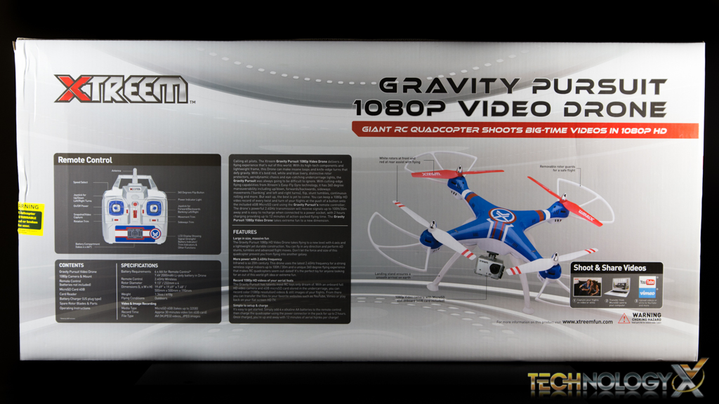 Swann Xtreem Gravity Pursuit Drone-71